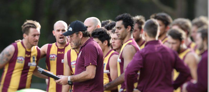 Nathan Harkness coaching black diamond afl australia
