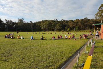 2018 pre-season training