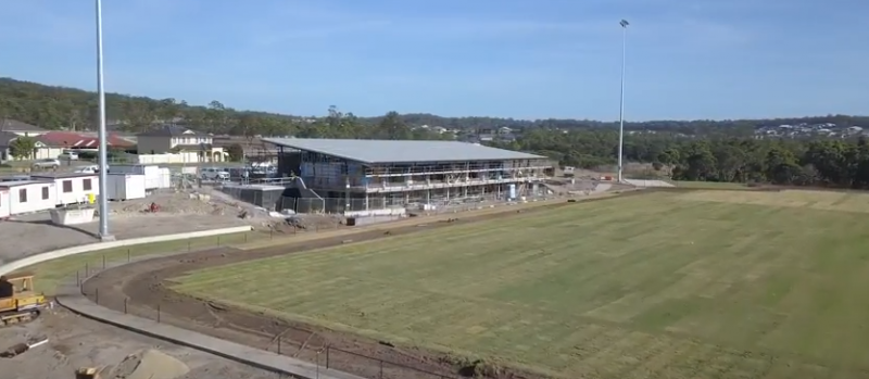 cameron park ground update